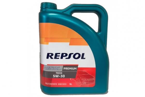 Cambio de Aceite Repsol 5w30 Low Saps Full Tech - 42€